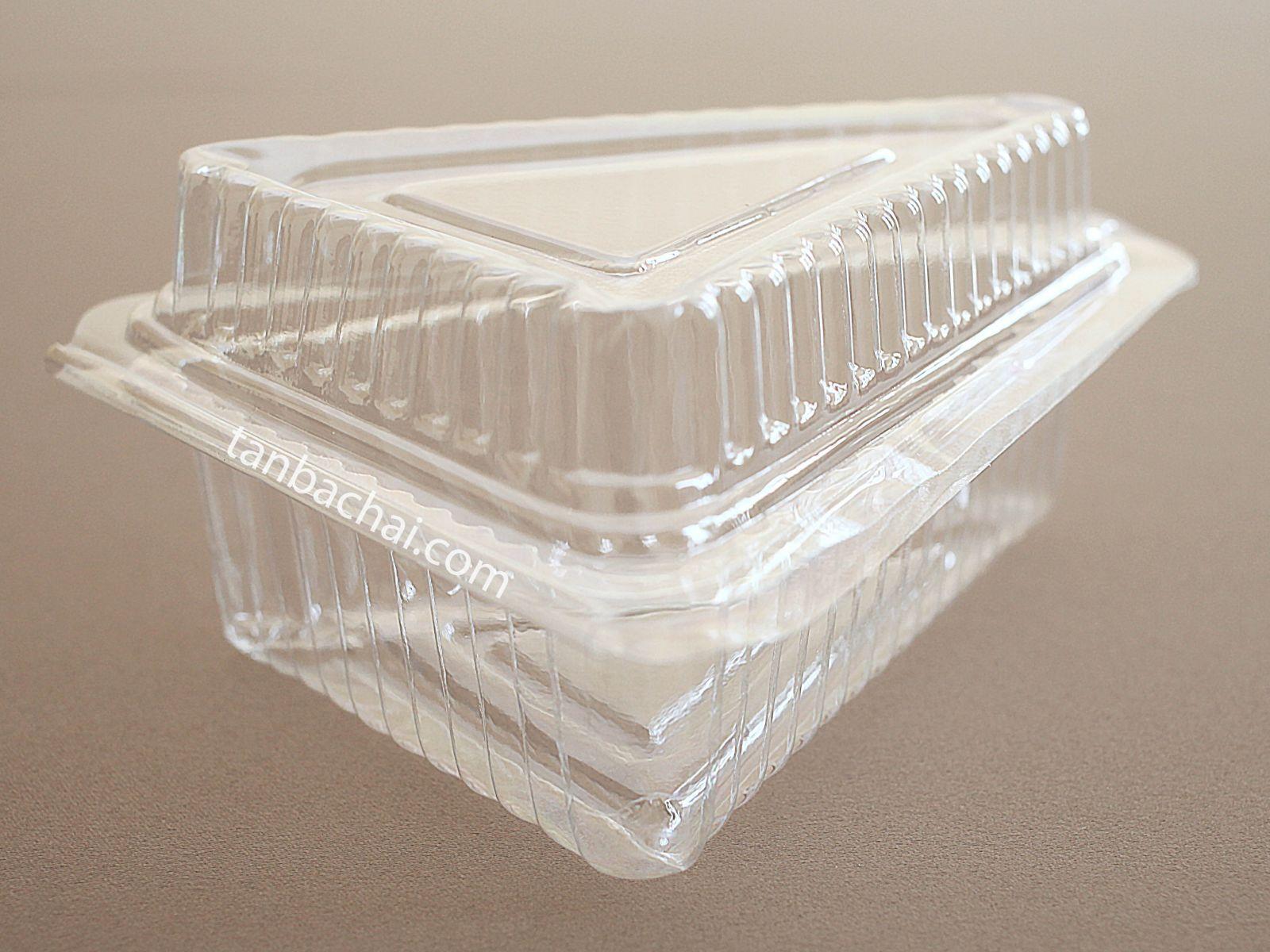 Hộp nhựa bánh bông lan