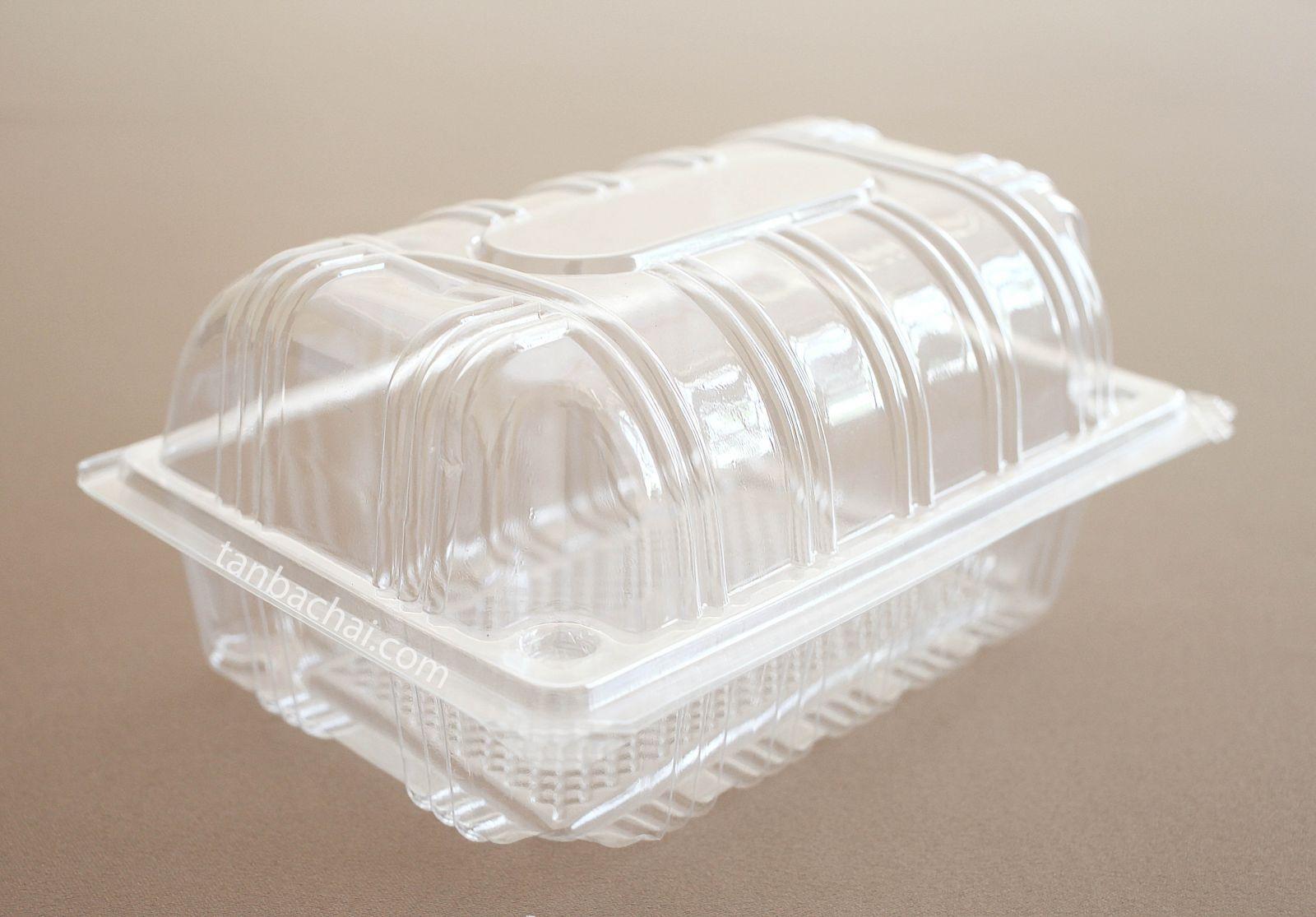 Hộp nhựa bánh bông lan S30